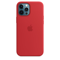Apple Coque en silicone avec MagSafe pour iPhone 12 Pro Max - (PRODUCT)RED - Rouge