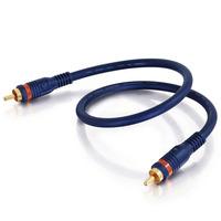 C2G 10m Velocity Digital Audio Coax Cable - Bleu
