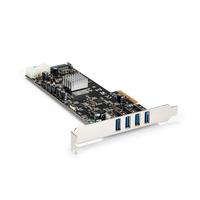 StarTech.com Carte Contrôleur PCI Express vers 4 Ports USB 3.0 avec 4 voies dédiés de 5 Gb/s - UASP - .....