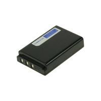 2-Power Digital Camera Battery 3.7V 1600mAh - Noir