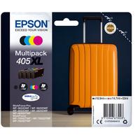 Epson Multipack 4-colours 405XL DURABrite Ultra Ink Inktcartridge - Zwart,Cyaan,Magenta,Geel