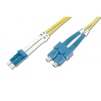 ASSMANN Electronic FO patch cord, duplex, SC (APC) to LC (PC),SM OS2 09/125 µ, 10 m Fiber optic .....