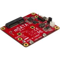 StarTech.com USB naar mSATA converter voor Raspberry Pi en development boards Interfaceadapter - Rood