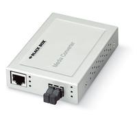Black Box Convertisseur XS 10/100 Convertisseur réseau média - Blanc
