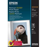 Epson Premium Glossy Photo Paper - A4 - 15 Feuilles Papier photo