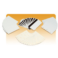 Zebra PVC, 30mil, Recycled PVC Cards Visitiekaart