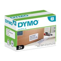 DYMO LW - Grote verzendingslabels voor grote volumes - 102 x 59 mm - S0947420 Etiket - Wit