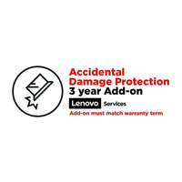Lenovo 3Y Accidental Damage Protection Garantie- en supportuitbreiding