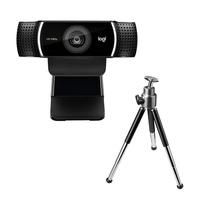 Logitech C922 Pro Stream Webcam - Noir