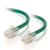 C2G Câble de raccordement réseau Cat5e sans gaine non blindé (UTP) de 1M - Vert Câble de réseau
