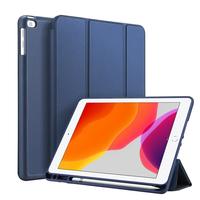 Accezz Smart Silicone Bookcase iPad 10.2 (2019) - Blauw - Blauw / Blue