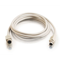 C2G 2m PS/2 Cable PS2 kabel - Grijs