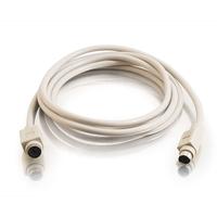 C2G 2m PS/2 Cable Câble PS2 - Gris