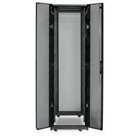 "APC NetShelter SX 42U 600mm(b) x 1070mm(d) 19"" IT rack, behuizing zonder zijpanelen, zwart Stellingen/racks"