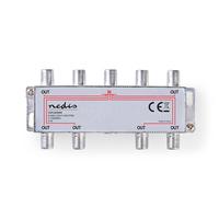 Nedis SSPL800ME Répartiteur de câbles - Argent