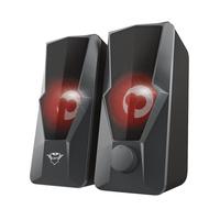 Trust GXT 610 Argus - 2.0 Speakerset - LED - voor PC & Laptop Luidspreker - Zwart