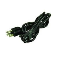 2-Power Clover Leaf Power Cord (US Plug) Electriciteitssnoer - Zwart
