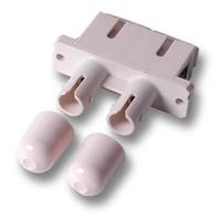 ACT Fiber optic SC-ST duplex adapter Adaptateurs de fibres optiques - Beige