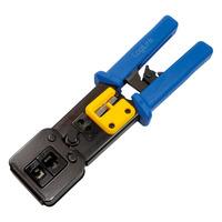 LogiLink Crimping tool for RJ11/12/45/EZ plugs, with cutter Pince et coupe câbles - Noir,Bleu