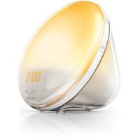 Philips Wake-up Light met simulatie van gekleurde zonsopkomst Lichttherapie - Wit