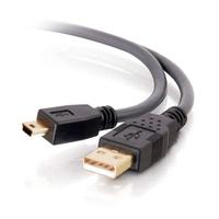 C2G 2.0 A Ultima Vers Câble Mini-B de 3 m Câble USB - Noir