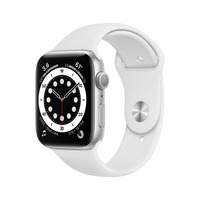 Apple Watch Series 6 44mm Zilver Smartwatch
