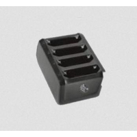 Zebra 4-Slot Optional Battery PowerPack Toaster Chargeur de batterie - Noir