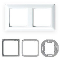 Kindermann Mounting Frame Jung AS500 double - Blanc