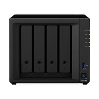 "Synology DiskStation Intel Celeron J4125 (4x 2GHz), 4Go DDR4, 4x 2.5""/3.5 SATA, 2x RJ-45, 2x USB3.0, eSATA ....."