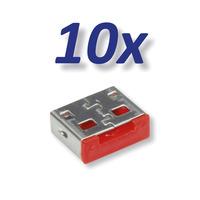 ROLINE Usb-A Port Lock / Blocker 10X Usb For 11.02.8330 - Grijs
