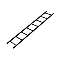 Middle Atlantic Products 90° Vertical Inside Ladder Bend, 18 Inches Wide Cable-trunking .....