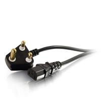 C2G 2m, SANS 164-1 - C13 IEC Cordon d'alimentation - Noir