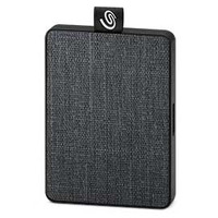 """Seagate One Touch SSD, 400MB/s, 2.5"""", Black, 1TB - Gris"""