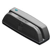MagTek USB HID, USB micro-B, 6 to 60 ips (15.4 to 152.4 cm/s) Lecteur de carte - Noir
