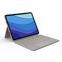 Logitech Combo Touch for iPad Pro 11-inch (1st, 2nd, and 3rd generation) - AZERTY - Sable