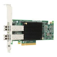 Broadcom Dual-Port, 10GBASE-SR (short reach optical) SFP+, CNA Adapter, Optics included Carte de réseaux - .....