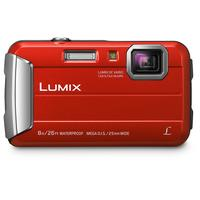 Panasonic Lumix DMC-FT30 Caméra digitale - Rouge