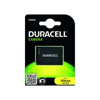 Duracell Digital Camera Battery 3.7v 1000mAh replaces Nikon EN-EL12 Battery - Noir