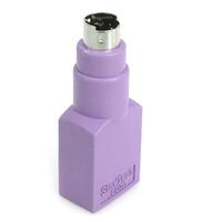 StarTech.com Adaptateur Clavier USB vers PS/2 - USB A Femelle - PS/2 Mâle Adaptateur de câble - Violet