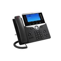 Cisco 8861 Téléphone IP - Noir, Argent