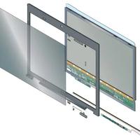 3M ALCF-P 60 ABR2 Monitor/TV accessoire - Transparant