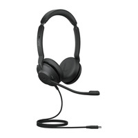Jabra Evolve2 30, USB-C MS Teams Stereo Headset - Zwart