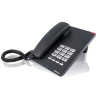 Profoon TX-310, Mute, Flash, Pause, 10 numbers, Zwart DECT-telefoon