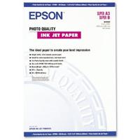 Epson Photo Quality Ink Jet Paper, DIN A3+, 104g/m², 100 Vel Fotopapier - Wit