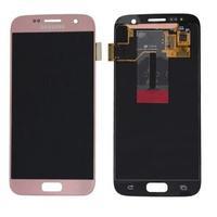 Samsung G930F Galaxy S7 LCD Display Module Pièces de rechange de téléphones mobiles - Rose doré