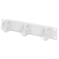 """Digitus 254 mm (10"""") 1U cable management panel 3x cable rings, 44x254x60 mm, grey (RAL 7035) Patch panel ....."""
