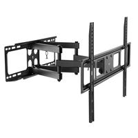 Ewent mural de télévision Full Motion XL Support de montage - Noir