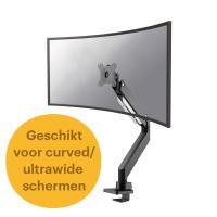 Newstar flatscreen bureausteun Monitorarm - Zwart