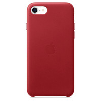 Apple Leren hoesje voor iPhone SE - (PRODUCT)RED