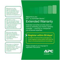APC WBEXTWAR1YR-AC-01 Garantie- en supportuitbreiding